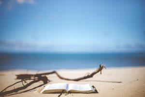 libro se llena de arena