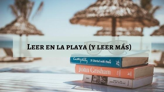 leer en la playa y leer mas